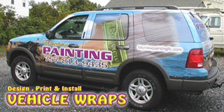 Vehicle Wrap SUV